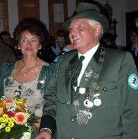 Ehrenkönigspaar Gerhard Specht und Hannelore Specht