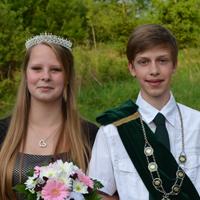 Jugendkönigspaar 2015 Tim Lichtblau und Leonie Günther