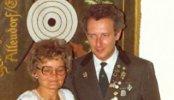 Königspaar 1979 Dieter Kramer und Rosel Claus