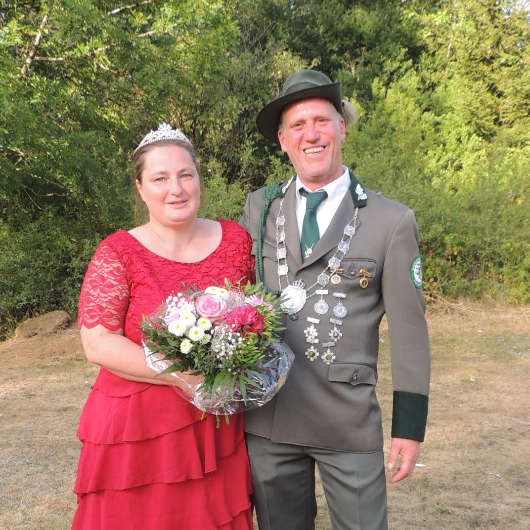Ehrenkönigspaar 2015-2020 Reiner Jakobi und Gerlinde Jakobi