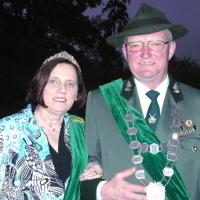 Königspaar 2013 Hjalmar Schmitt und Annemarie Schmitt