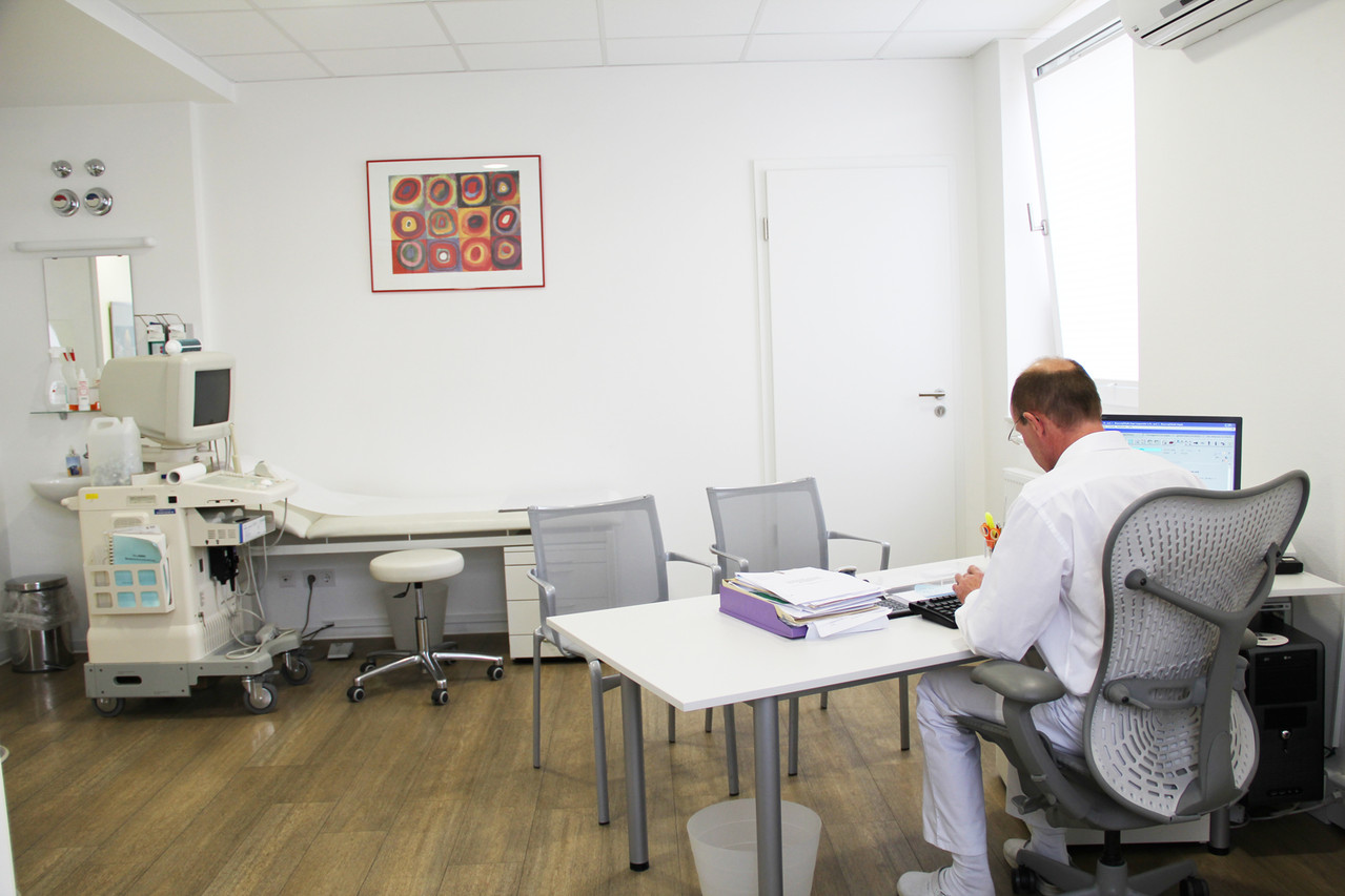 Praxiszimmer Dr. Wawersig