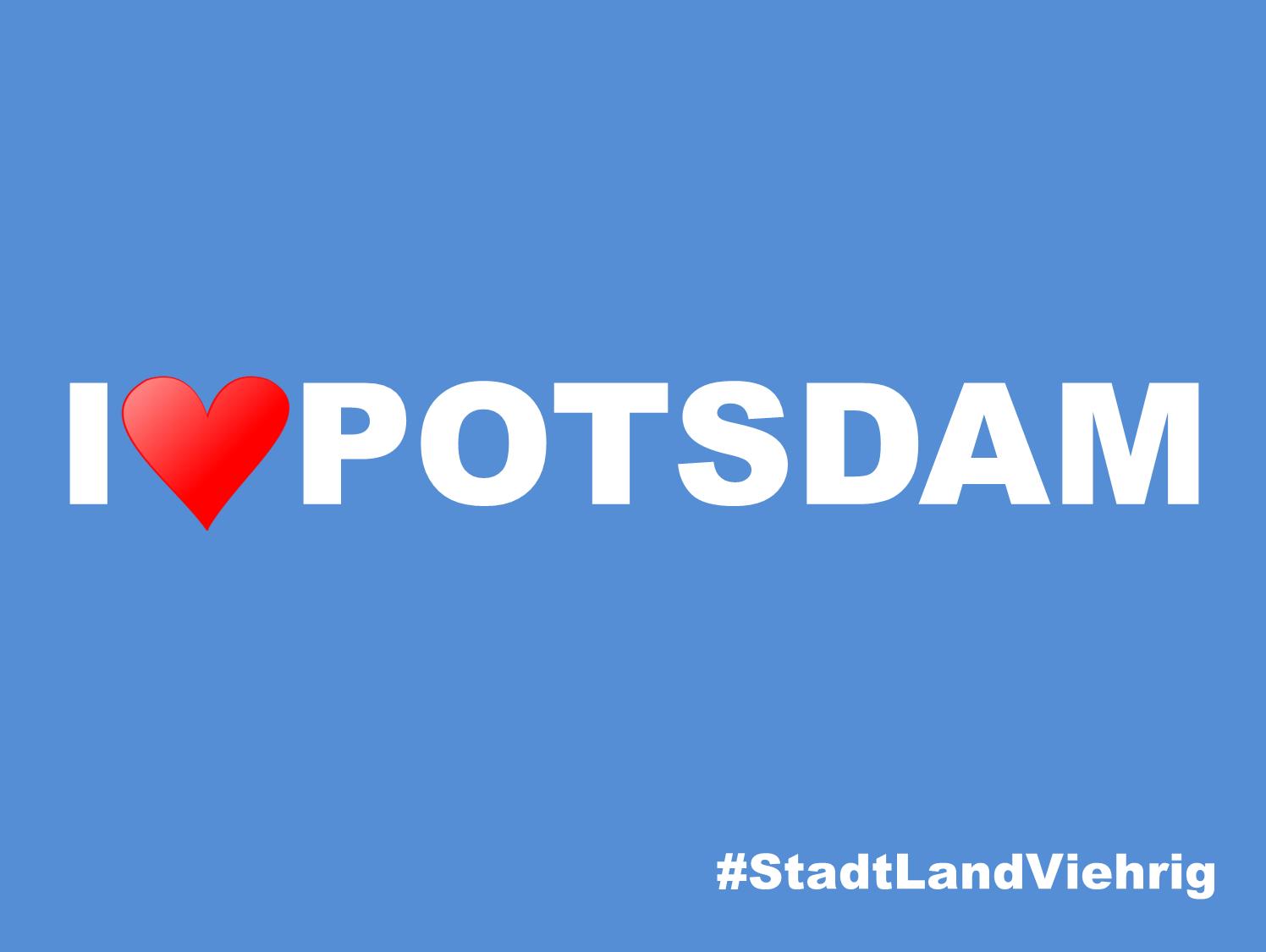 Meine Heimatstadt - I love Potsdam