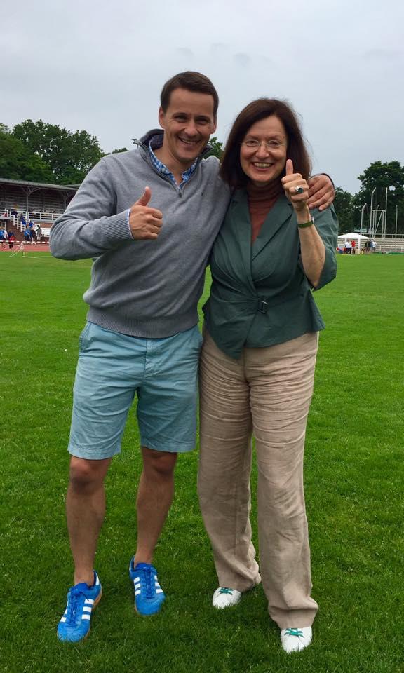 """""""Daumen hoch für den Sport"""" mit Frau Magdowski"""