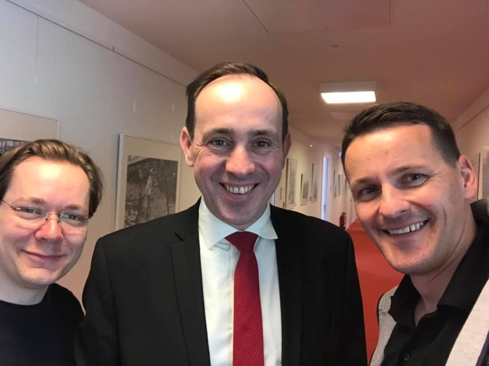 Ingo Senftleben im Landtag besucht