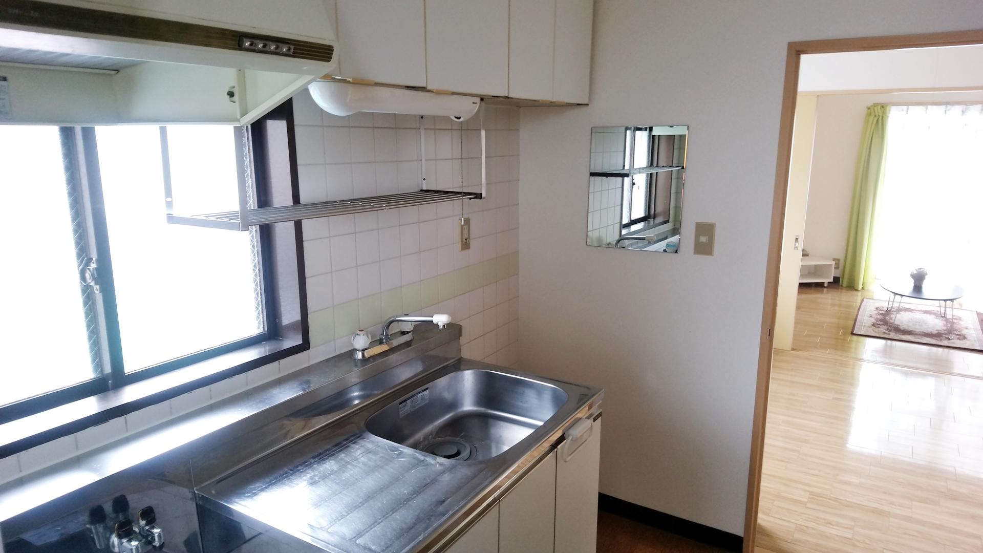 清潔感溢れる使いやすいキッチン