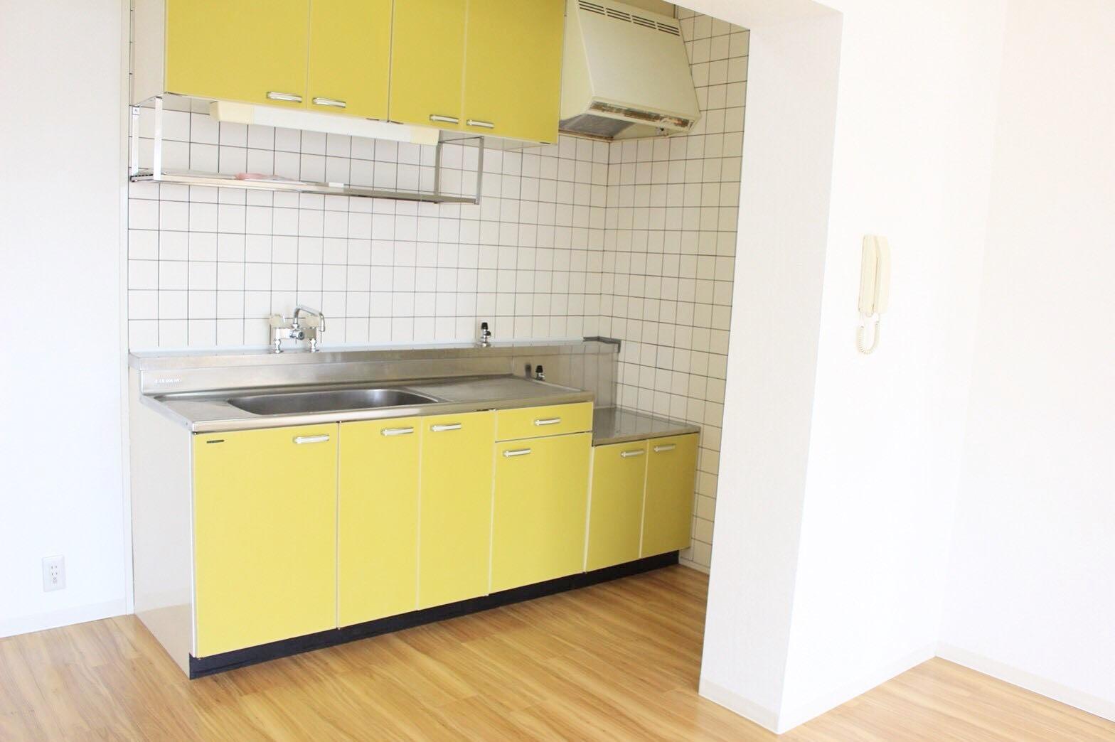 使いやすいキッチン 都市ガス