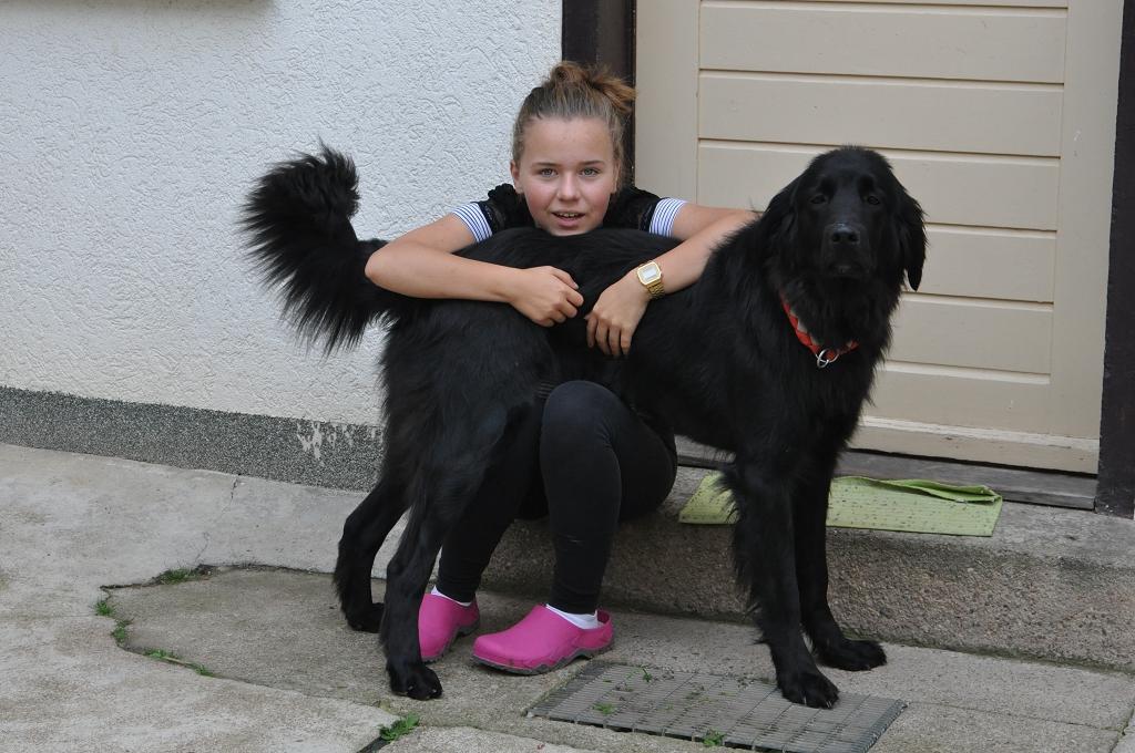 Sophia mit Aino