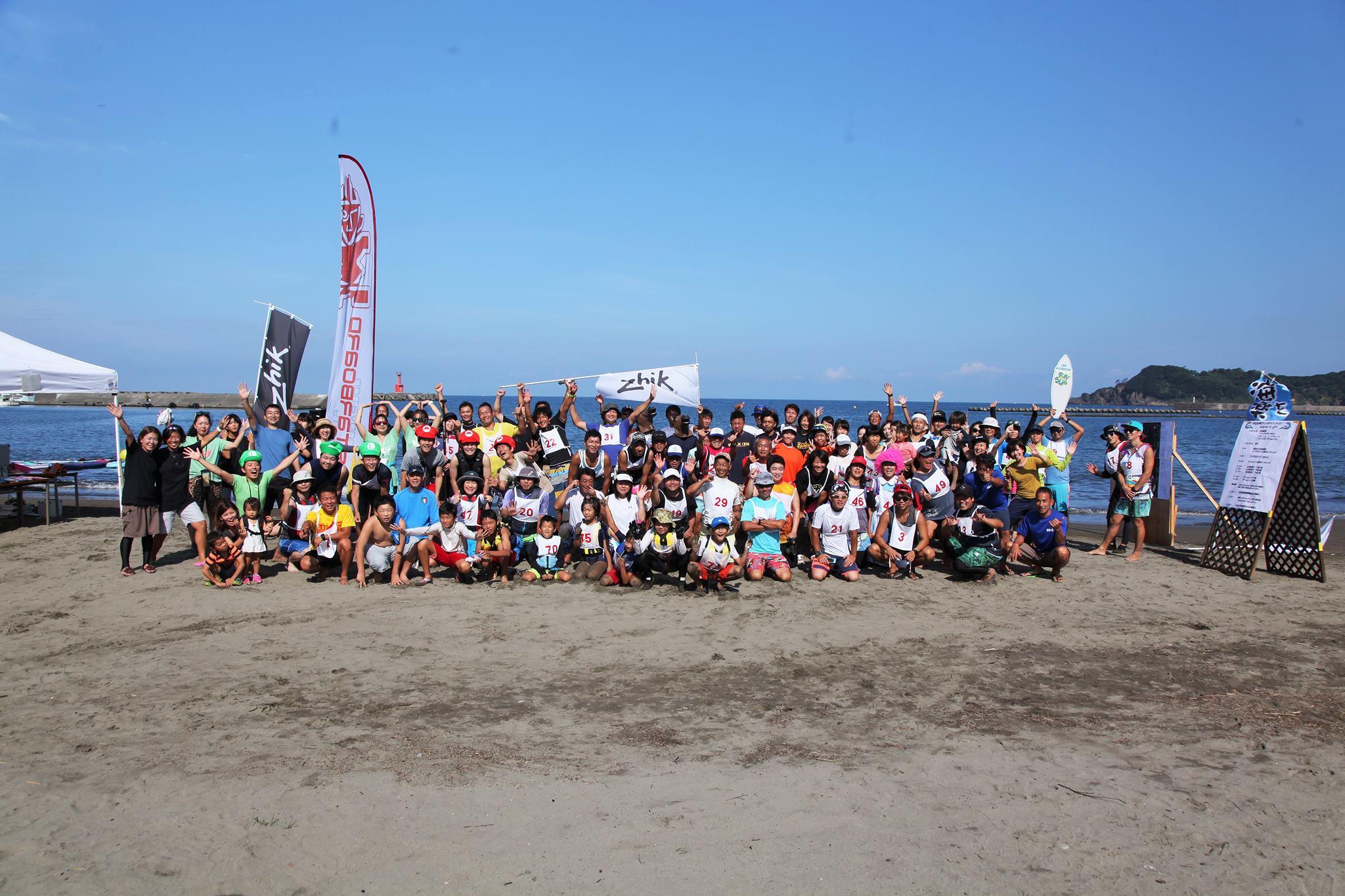 記念すべき第1回伊豆松崎ファンSUPイベント開催!「楽しく熱い大会でした!!」