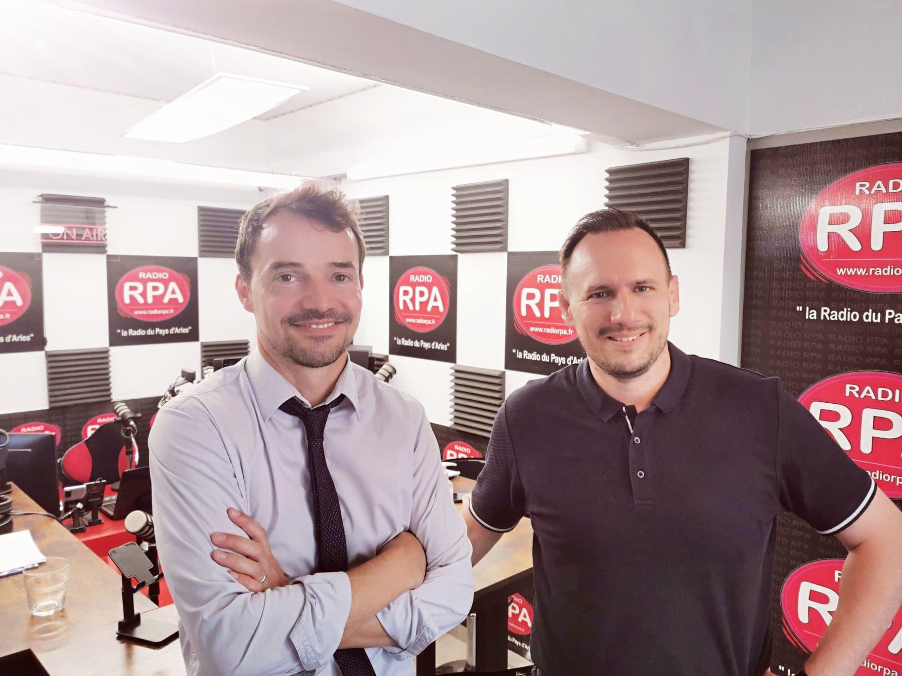 La ville d'Arles obtient le Label Campus Connecté - Présentation et explications avec Frédéric Imbert et Sylvère Bastien sur RPA