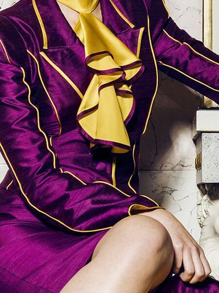 """Preisträgermodel von Karin P.Couture  """"Wien Couture Preis 2013/2014"""" - """"Wiener Blut – von Johann Strauss bis Falco"""""""