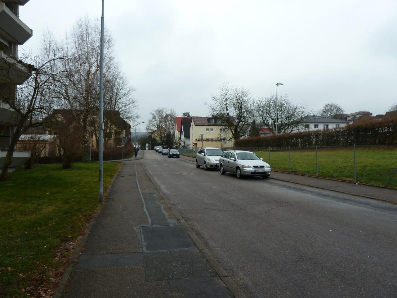 Parkplätze Strasse