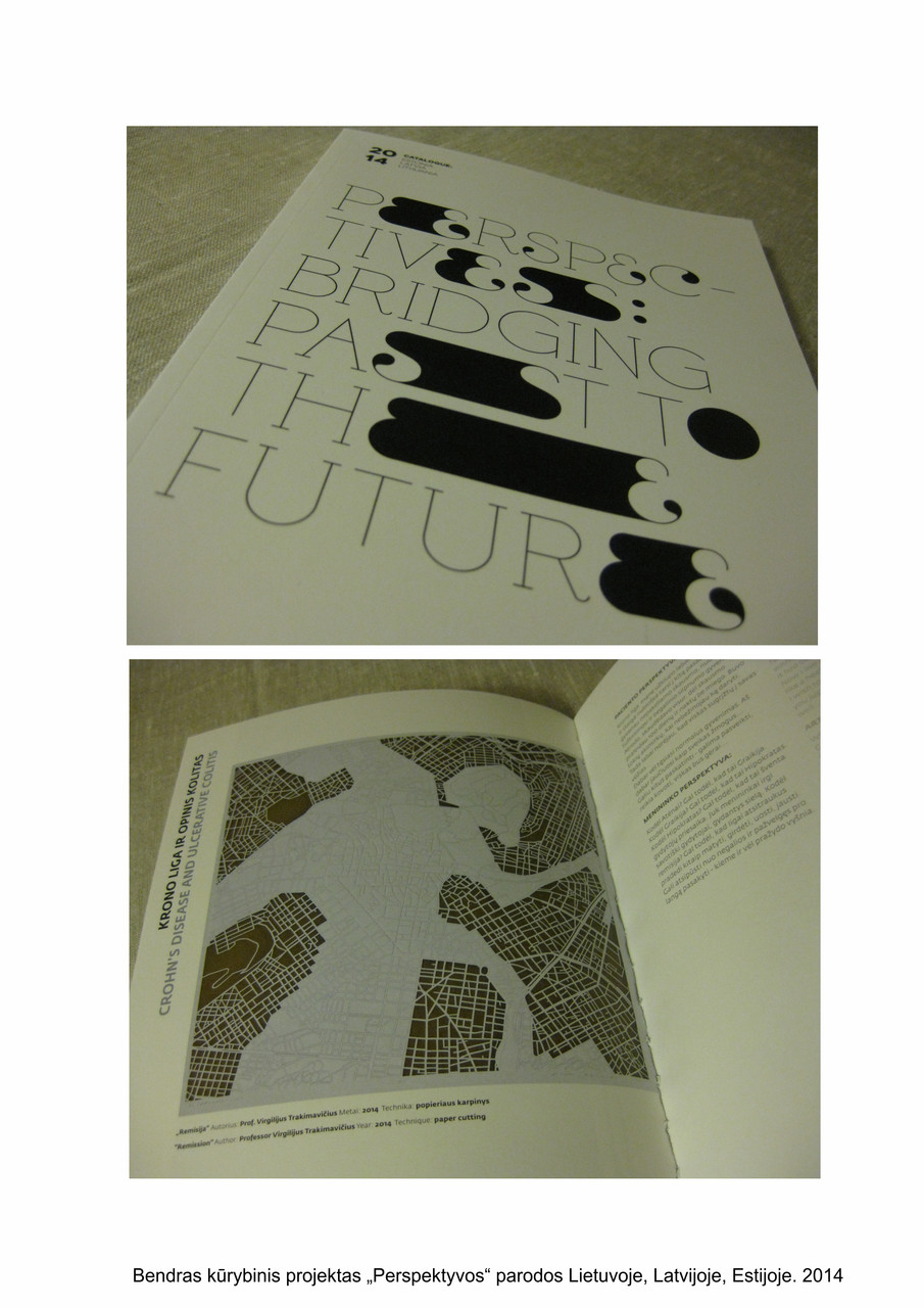 A catalogue from a joint Lithuanian, Latvian and Estonian exhibition, 2014