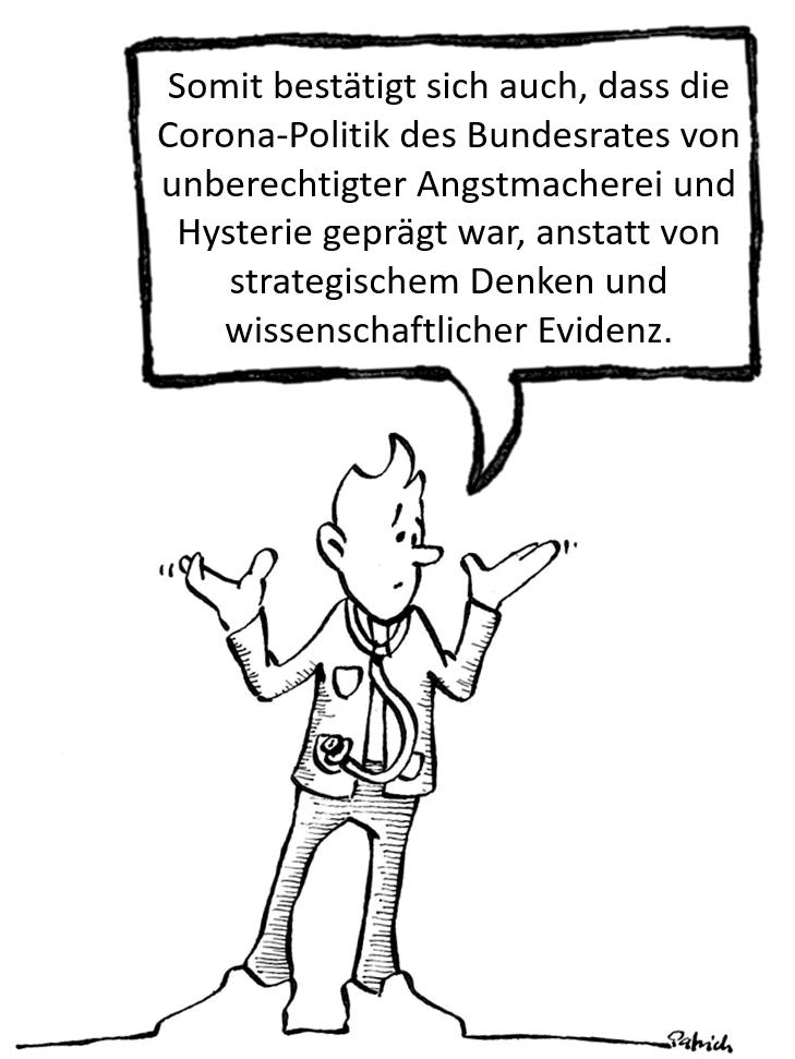 BAG und Swiss COVID Task Force: Und Sie wissen nicht, was sie tun!