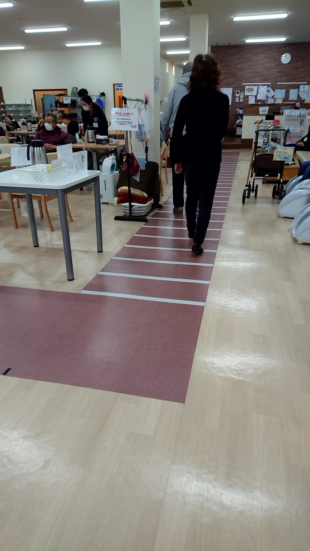 歩行コース45m!!