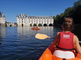 Location de canoës kayak à Chisseaux La Haute Traversière Chambres d'hôtes Gîte Chenonceau Amboise