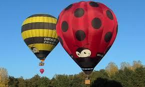 survol des châteaux en montgolfieres avec aerocom.fr