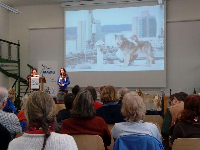 Wolfsbotschaftertreffen 2018 in Göttingen. Foto: Wolfgang Weber