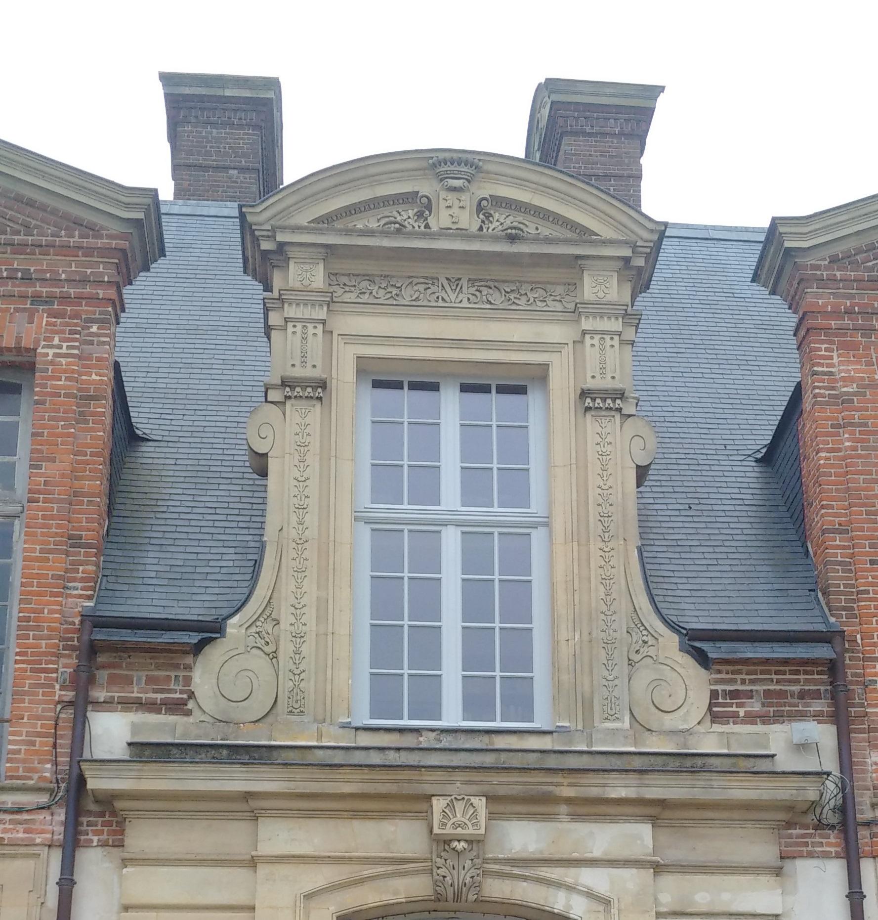 Fenêtres château dans les Yvelines
