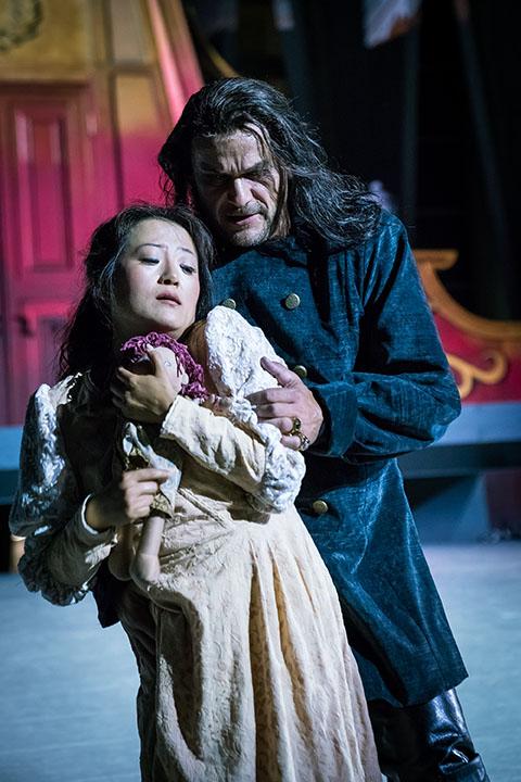 Sen Guo, Gilda - Duca di Mantova (Rigoletto 2016)
