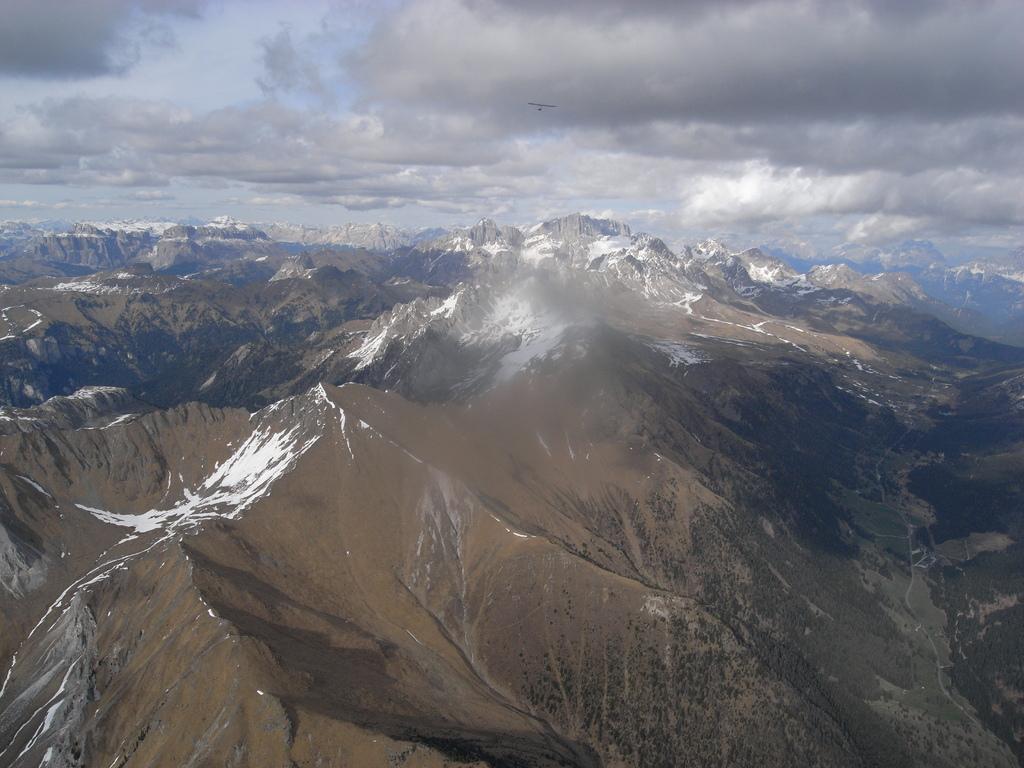 Berge nördlich von Predazzo in Richtung Marmolata