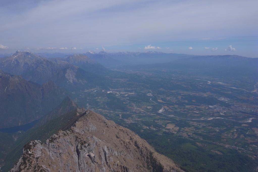 Lago del Mis und im Hintergrung Belluno