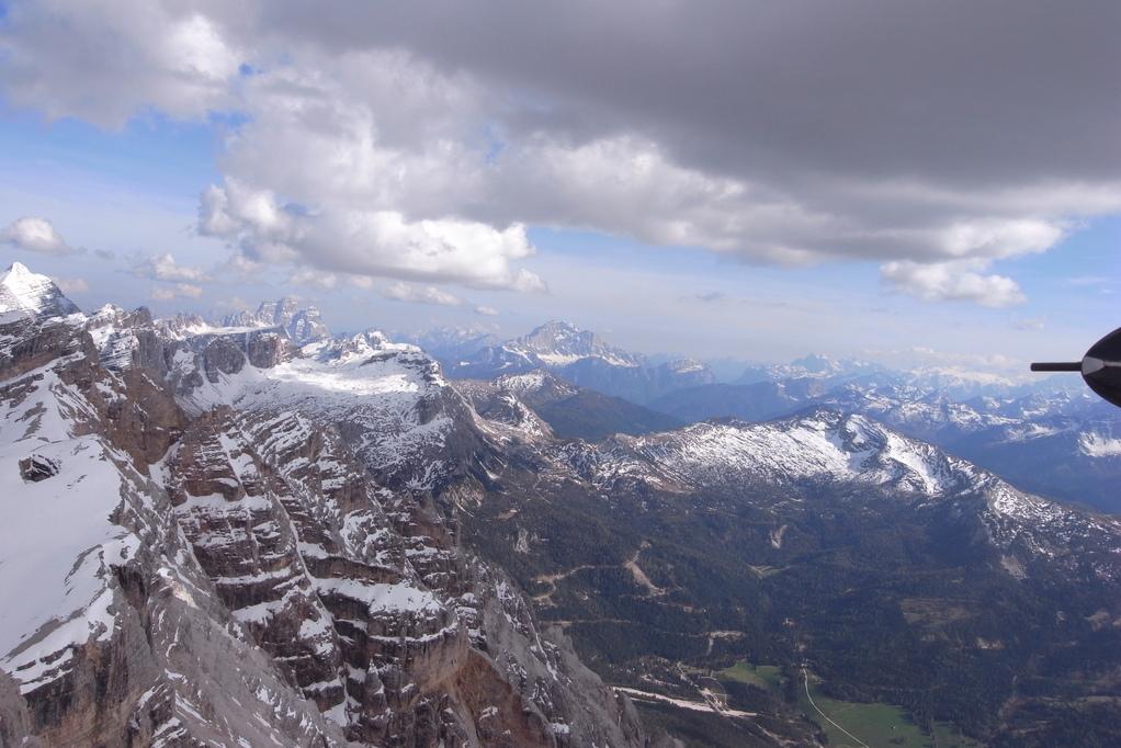 Conturines Richtung Val Parola