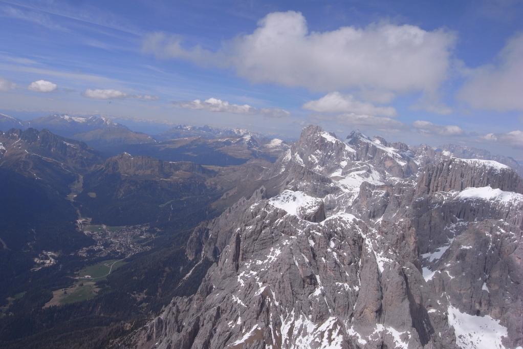 San Martino di Castrozza Richtung  Passo Rolle