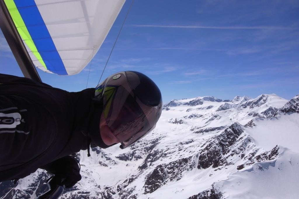 Gletscher in Ridnaun