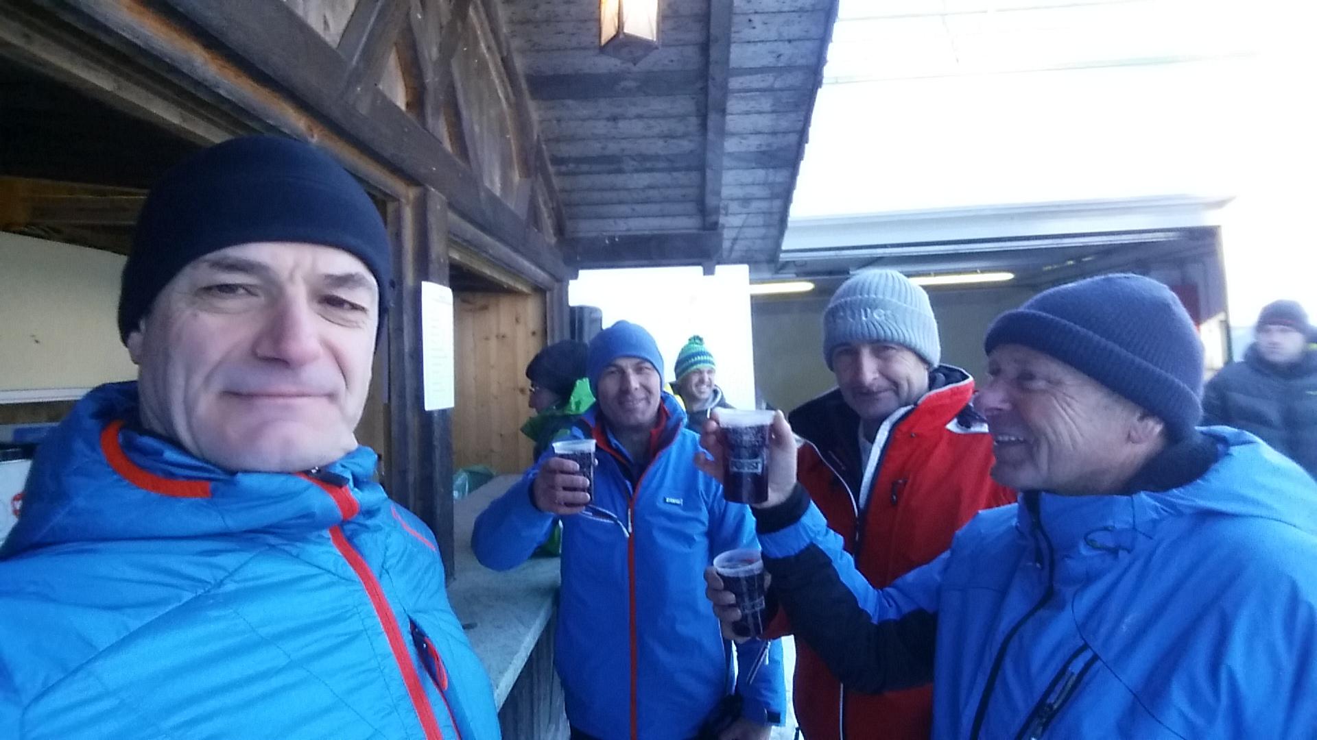 Dorfmeisterschaft in Eisstockschießen