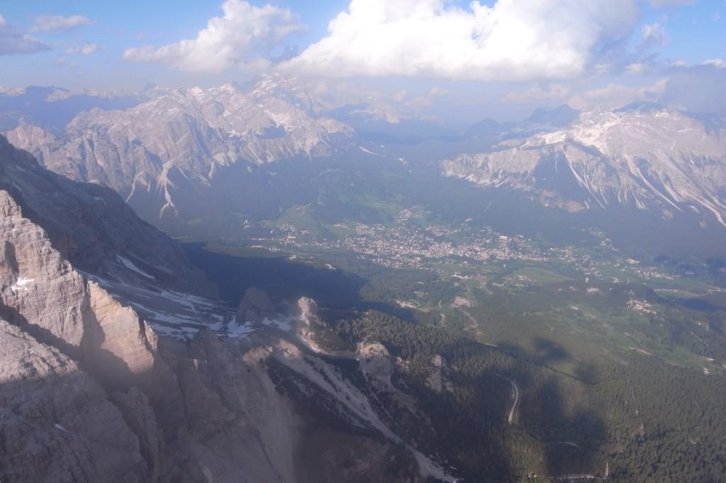 Und wieder zu Haus in Cortina