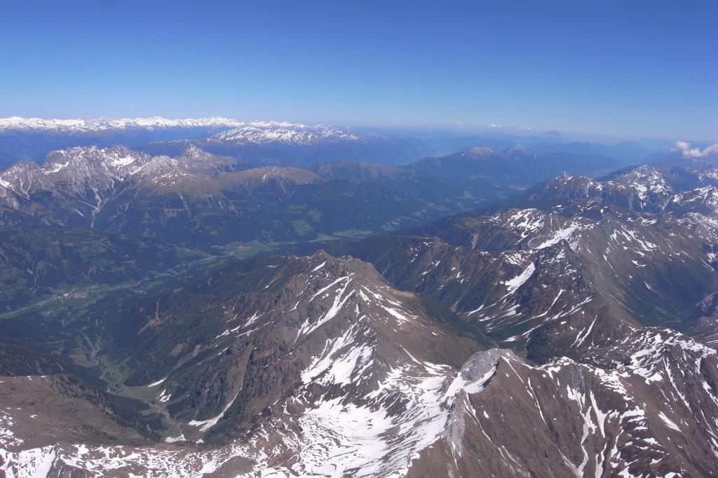 Grenze zu Österreich Richtung Lienzer Dolomiten