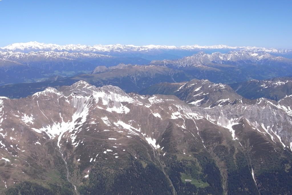 Grenze zu Österreich Richtung Obertilliach