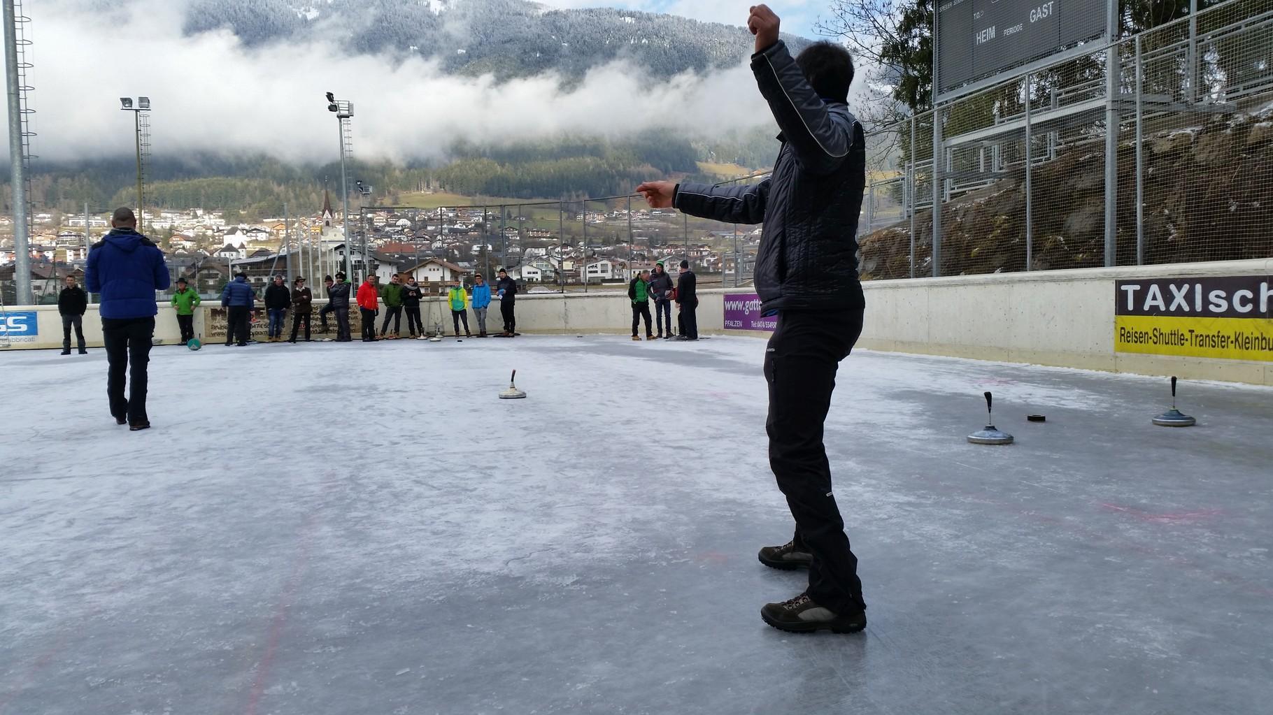 Eisstockschießen Dorfmeisterschaft
