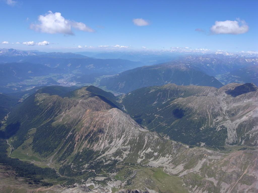 zurück Richtung Bruneck