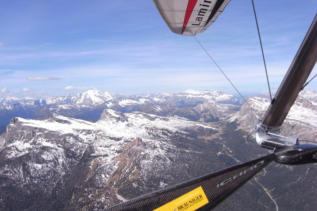 Cortina in Richtung Westen zum Falzarego
