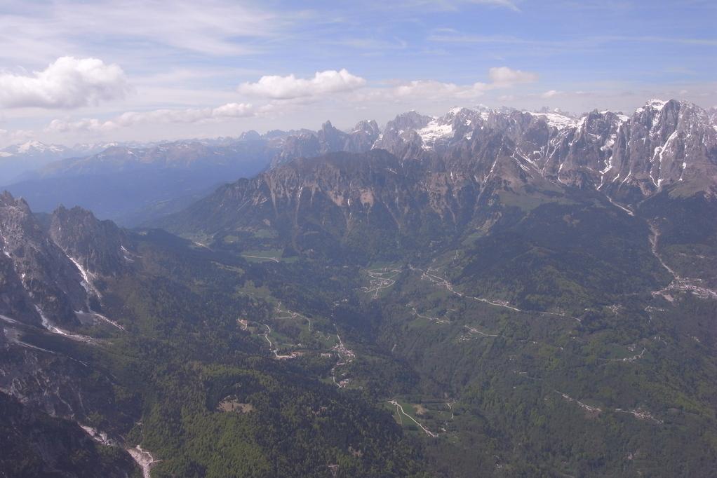 Blick nach Westen, Passo Cereda