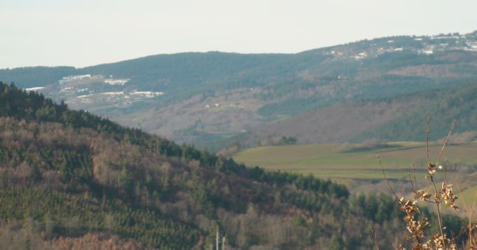 Le paysage environnant