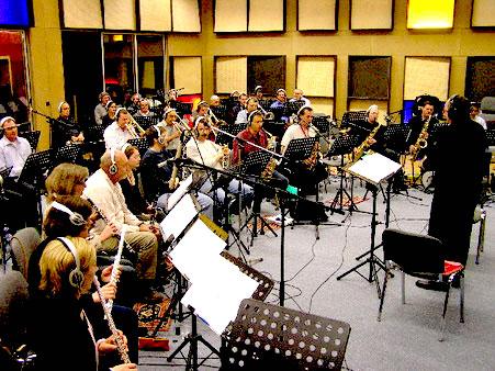 Swiss Band mit Dirigent Kurt Brogli