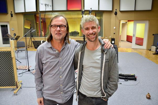 Peter Schärli und Chris Jäger