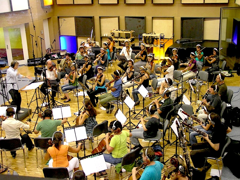 21st Century Orchestra unter der Leitung von Ludwig Wicki - Soundtrack Aufnahmen zum Film Sennentuntschi