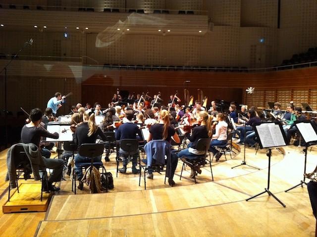 Junge Philharmonie Zentralschweiz unter der Leitung von Jonathan Nott - Liveaufnahme im KKL Luzern