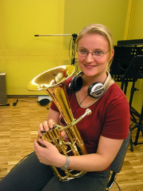 Produktion von Acanthus Music für Brass Quartett unter der Leitung von Corsin Tuor - Andrea Roos