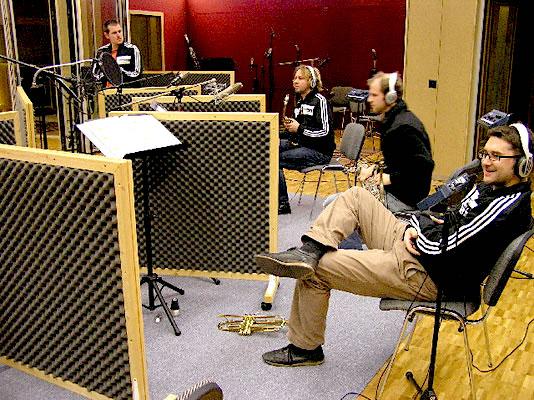 Spinning Wheel - Daniel Ringgenberger, Harald Rohrer, Armin Röösli und Adrian Derungs