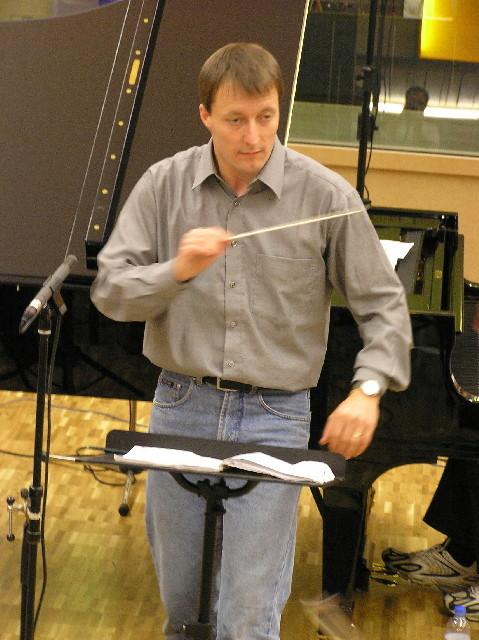 Dirigent Achim Fiedler