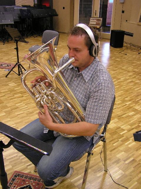 Produktion von Acanthus Music für Brass Quartett unter der Leitung von Corsin Tuor- Pirmin Hodel