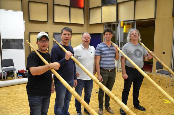 Alphorn Experience - Mike Maurer - Sami Lörtscher - Heinz Mäder - Christian Schmitter