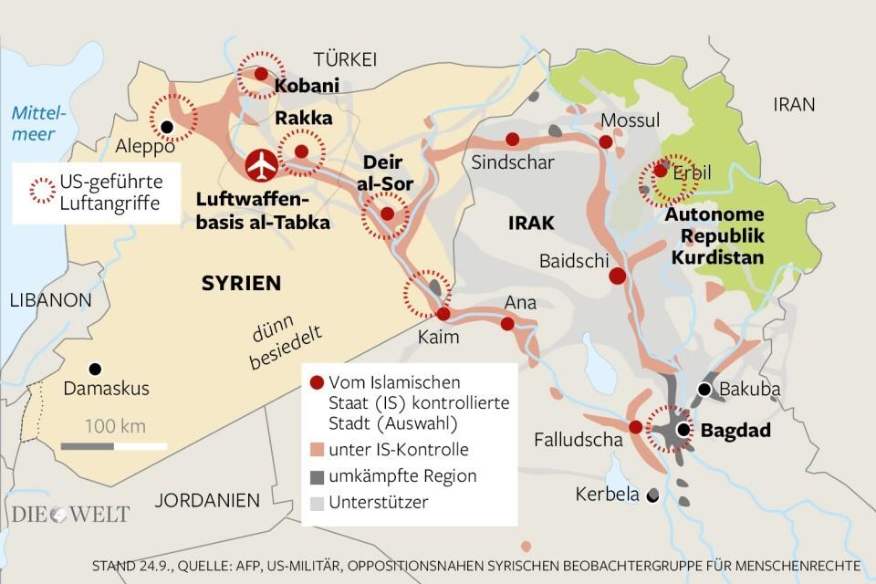 Syrien Irak Karte.Is In Irak Und Syrien Yeziden Im Irak