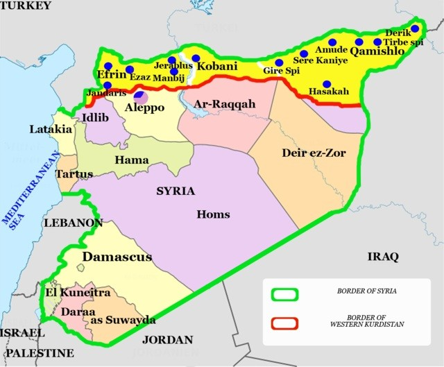 Karte Syrien Irak.Syrien Yeziden Im Irak