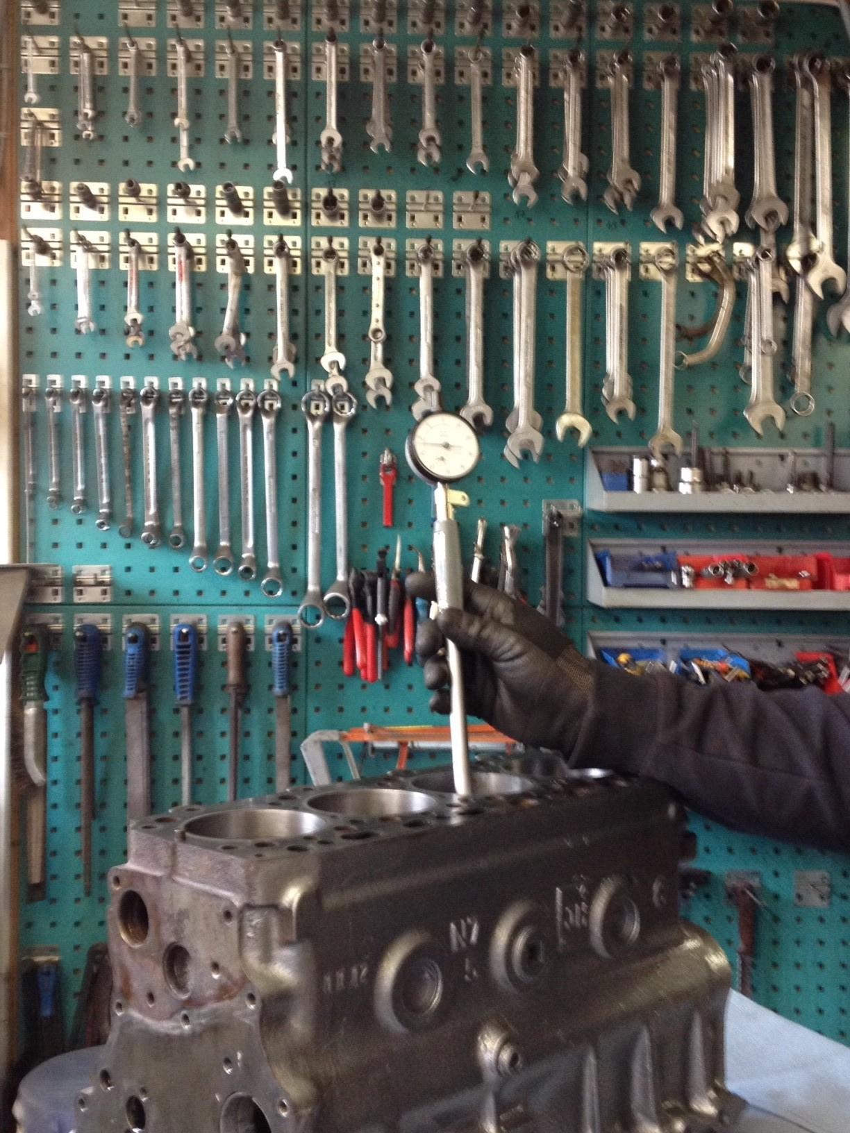 Zylinder Laufbuchsen vermessen